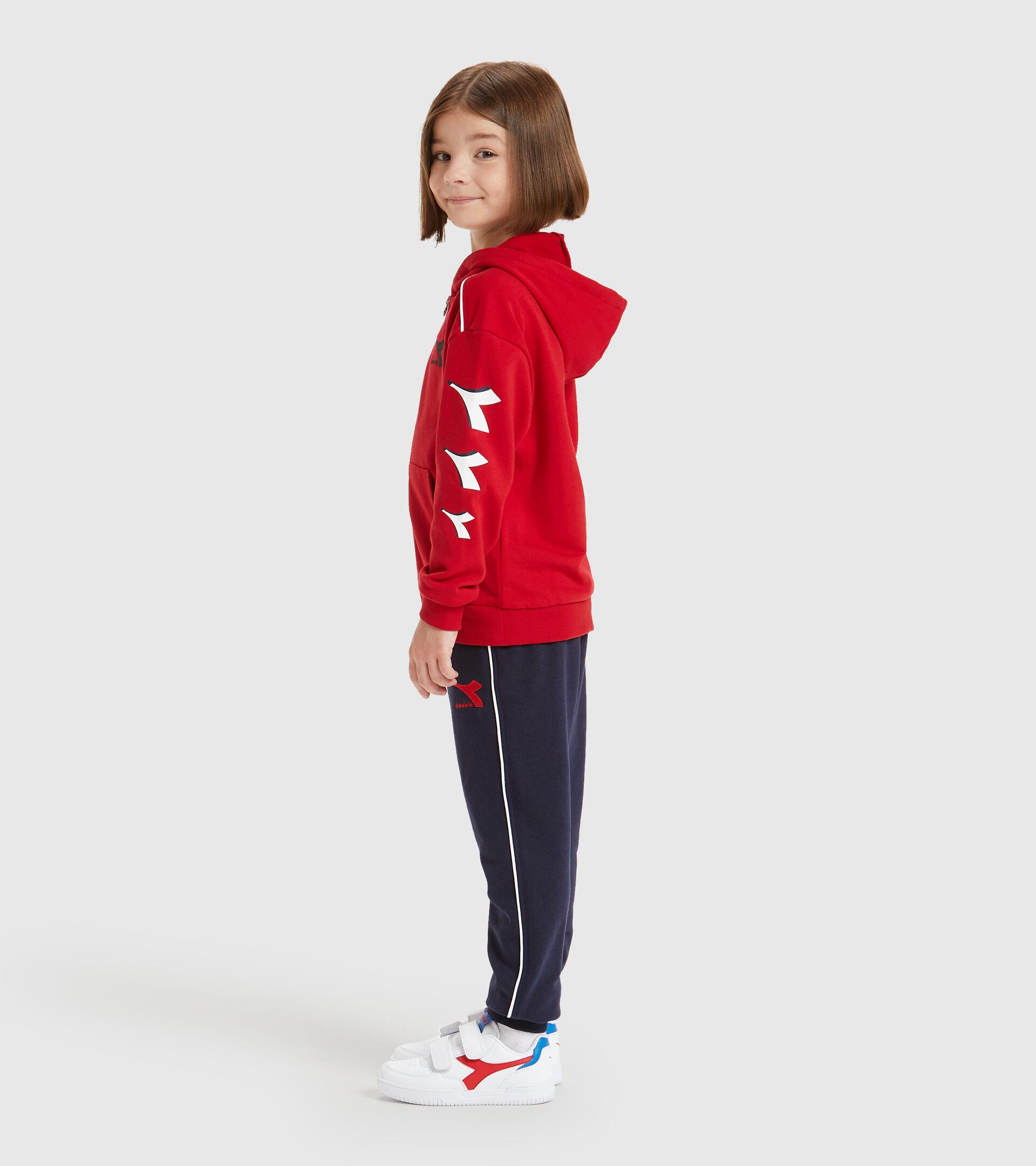 Tracksuit - Kids JU.HD FZ TRACKSUIT CUBIC TANGO RED - Diadora