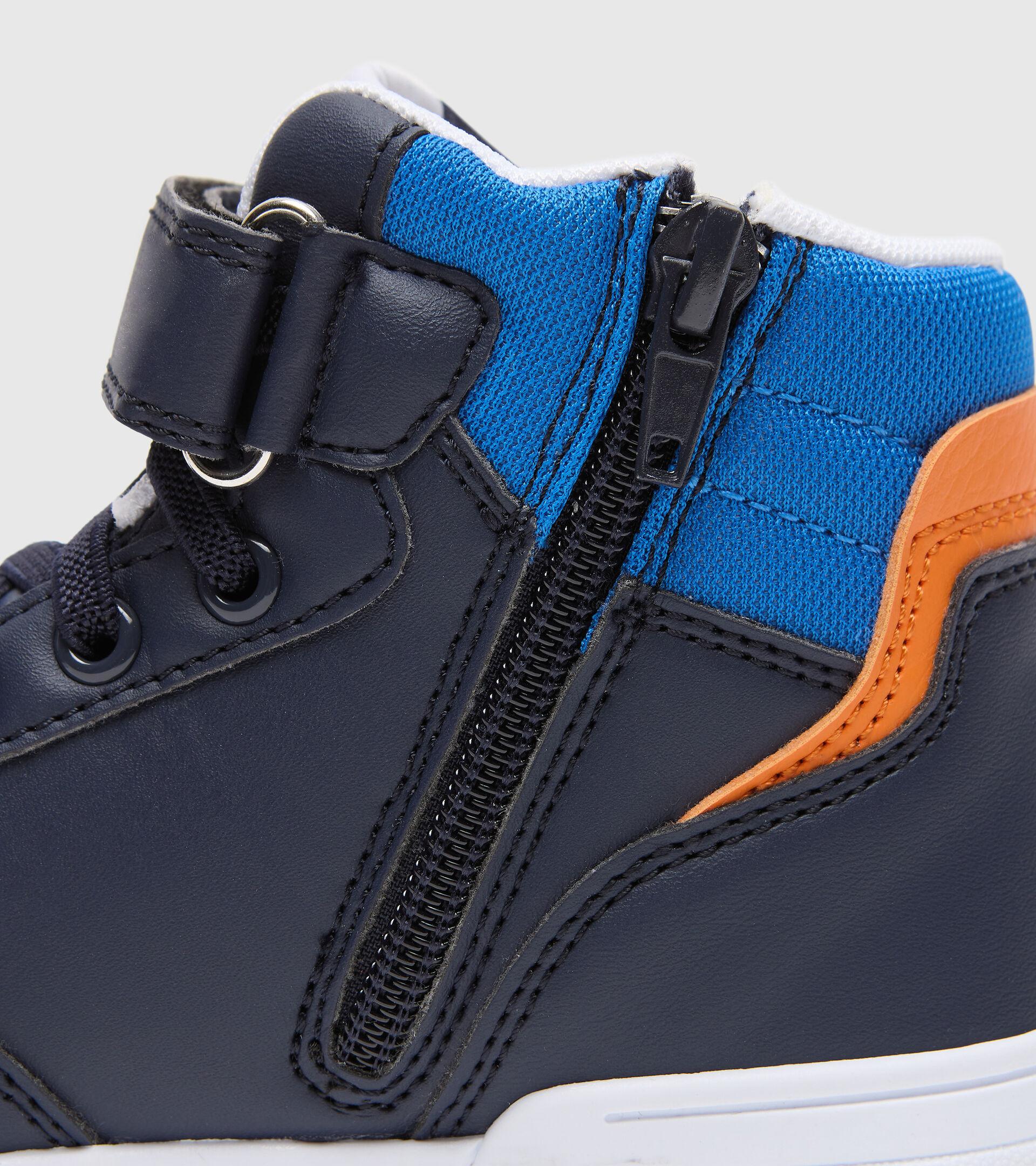 Footwear Sport BAMBINO RAPTOR MID PS BLUE CORSAIR/WHITE Diadora
