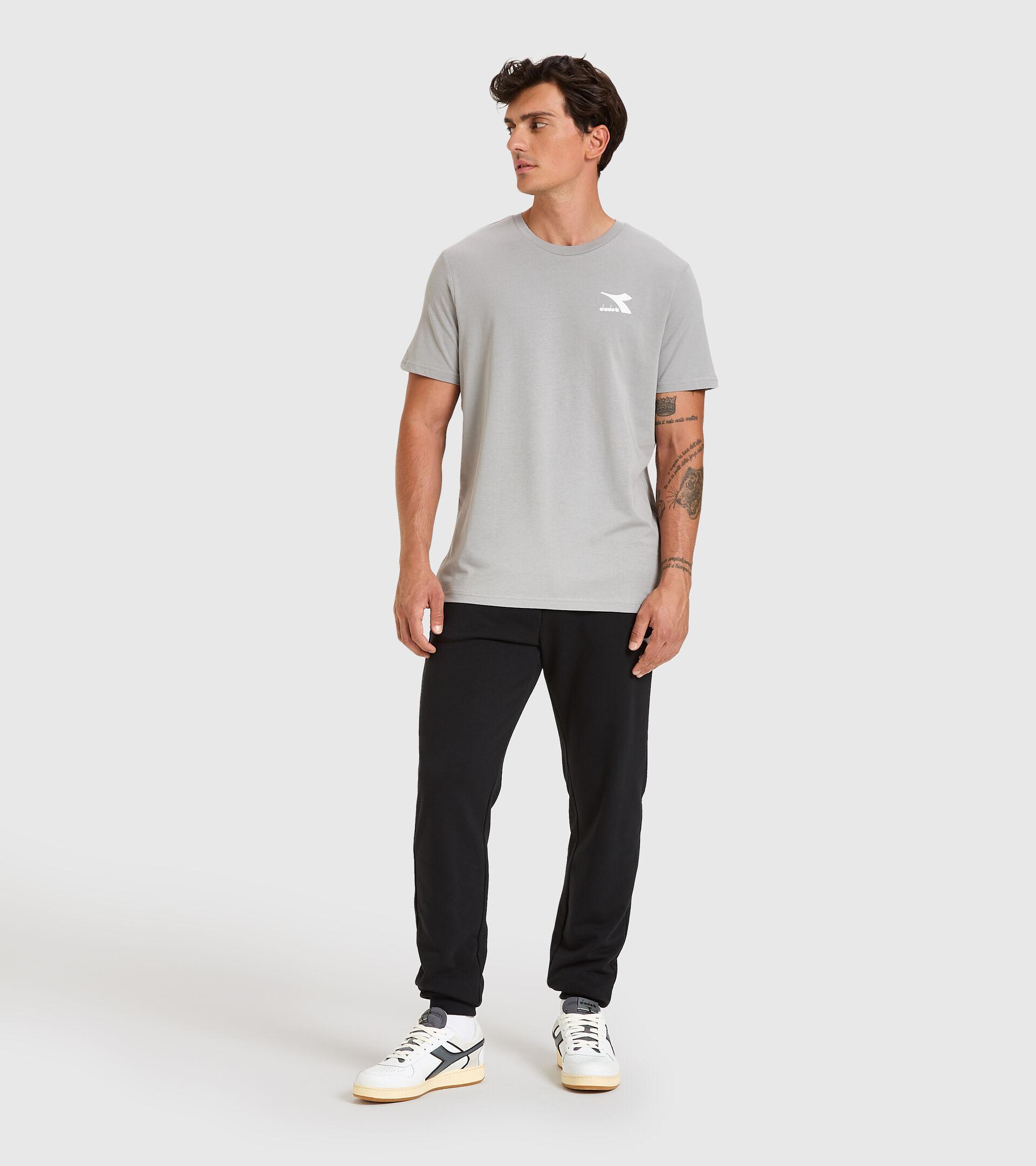 T-shirt - Men T-SHIRT SS CHROMIA GRAY MOUSE - Diadora