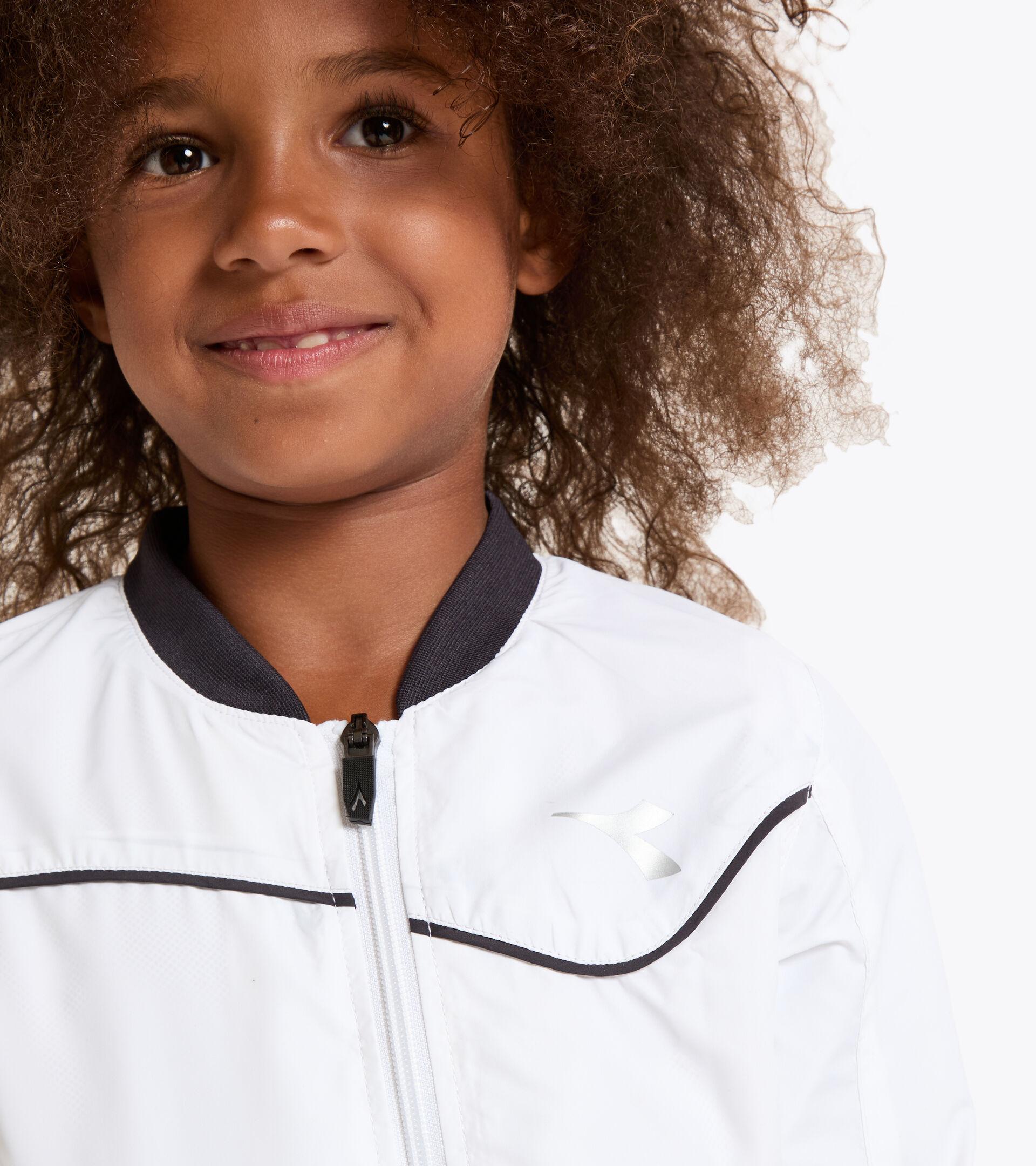 Chaqueta de tenis - Junior G. JACKET COURT BLANCO VIVO - Diadora