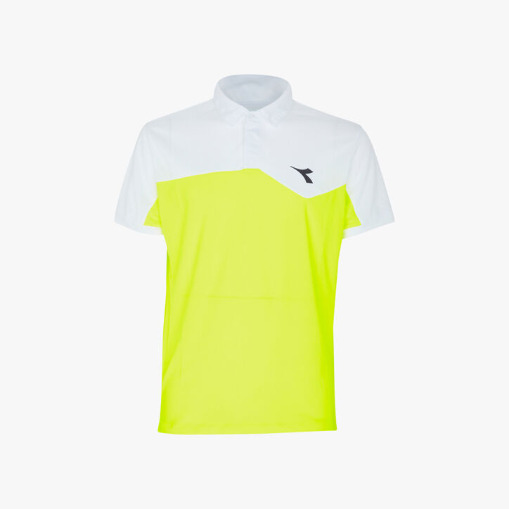 POLO COURT, FLUO YELLOW DD, large