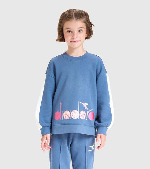 Sweater mit Rundhalsausschnitt - Kinder JG.SWEATSHIRT CREW TWINKLE PORZELLANBLAU - Diadora