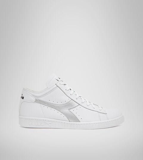 Footwear Sportswear UNISEX GAME ROW CUT METAL WHITE/SILVER .. Diadora