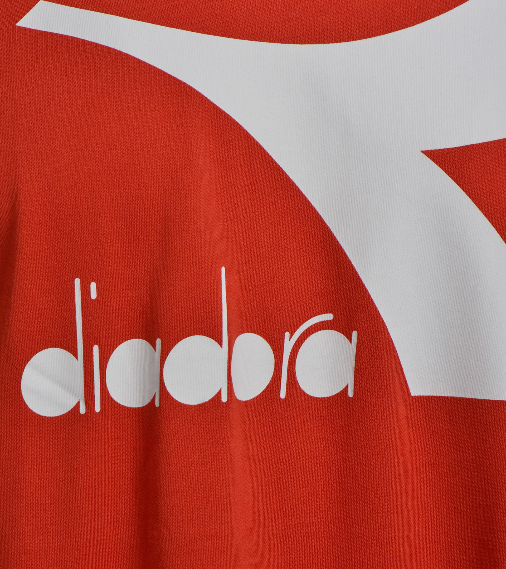 Apparel Sport UOMO T-SHIRT SS BIG LOGO MOLTEN LAVA RED Diadora
