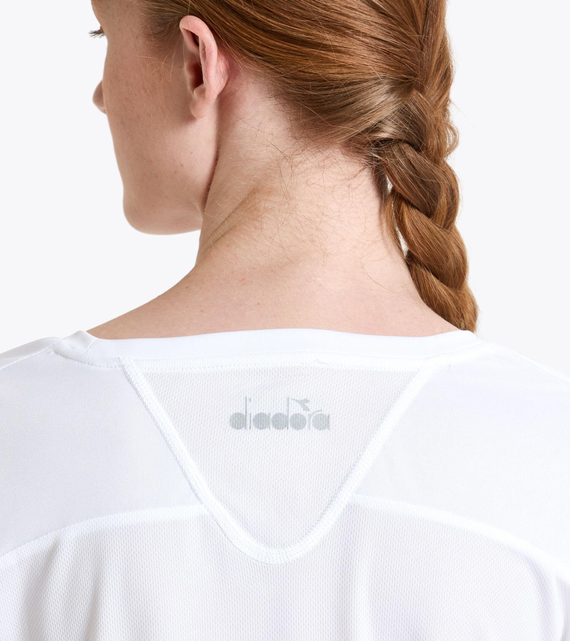 Camiseta de tenis - Mujer L. T-SHIRT COURT BLANCO VIVO - Diadora