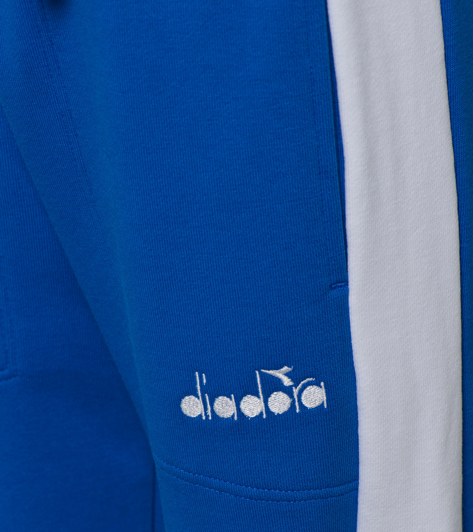 Sports trousers - Boys JB. PANT CUFF DIADORA CLUB MICRO BLUE - Diadora