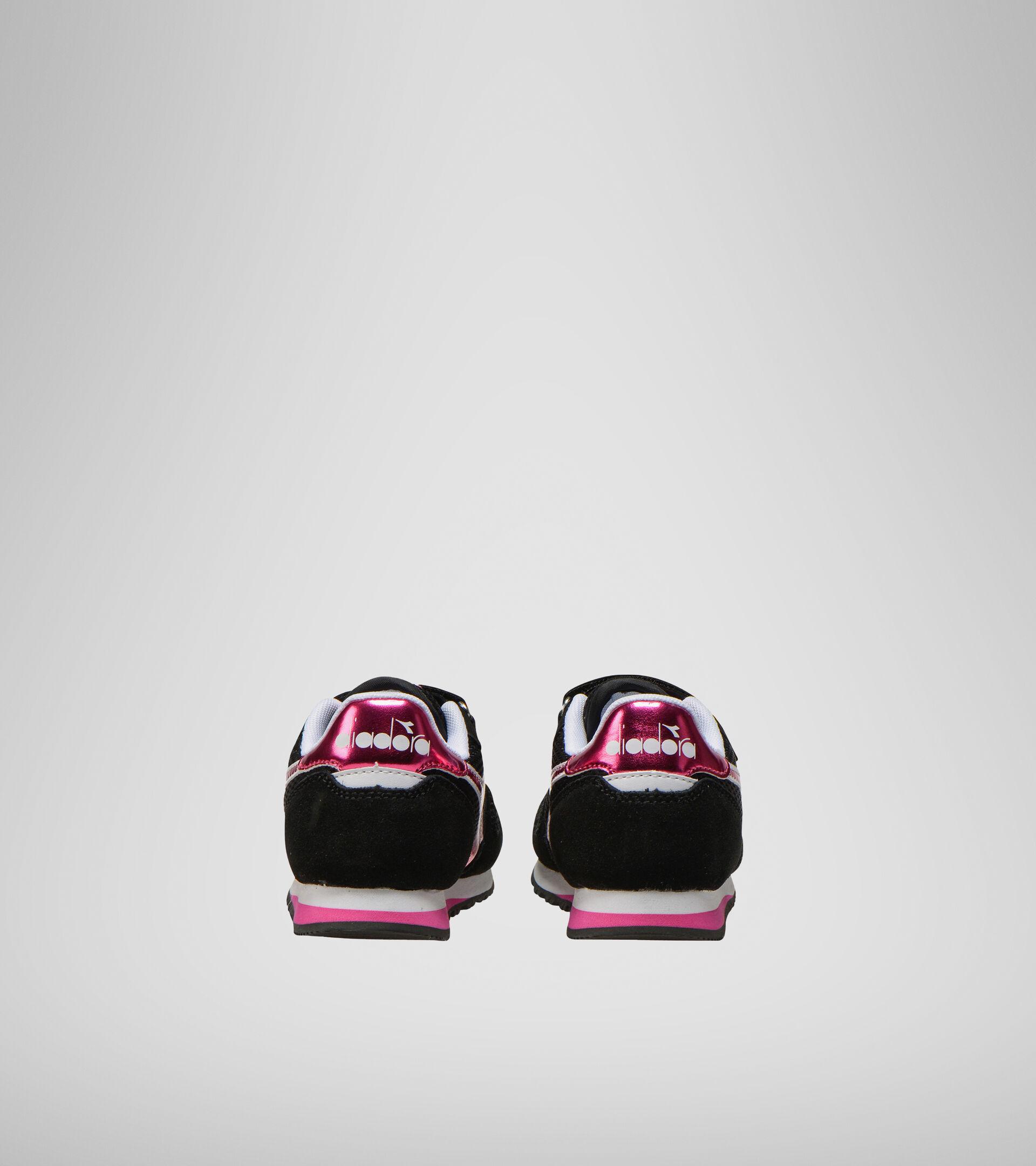Footwear Sport BAMBINO SIMPLE RUN PS GIRL BLACK Diadora