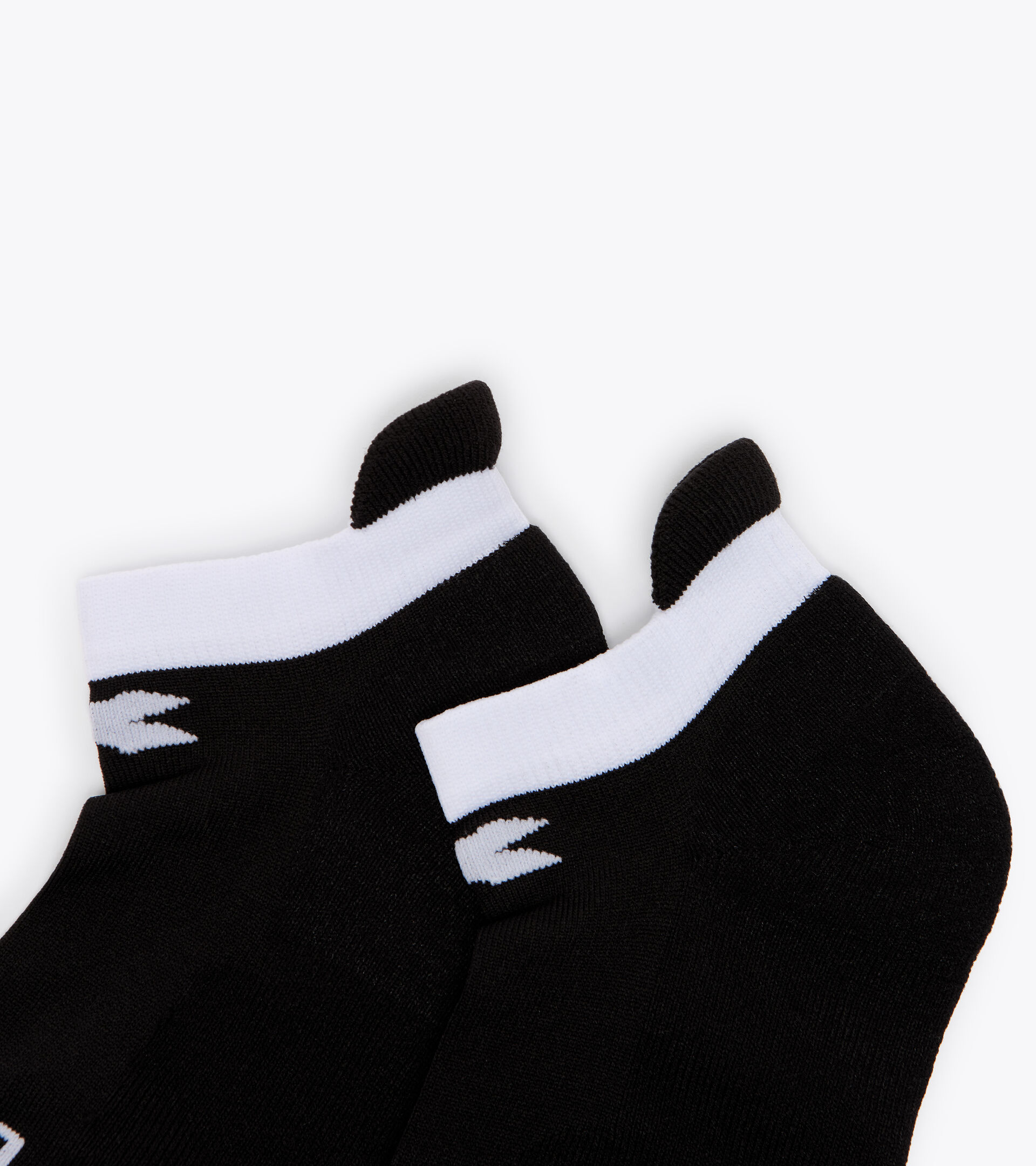 Accessories Sport DONNA L. SOCKS BLACK/OPTICAL WHITE Diadora