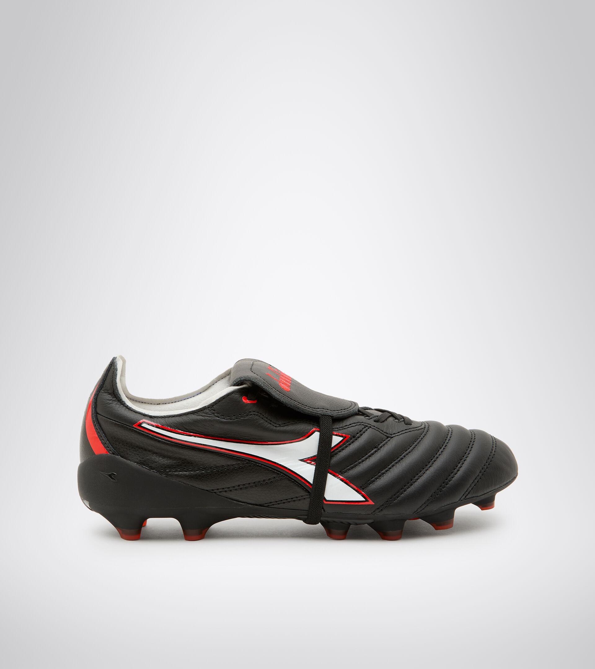 Footwear Sport UOMO BRASIL ELITE TECH T ITA LPX NEGRO/BLANCO/ROJO FLUO Diadora