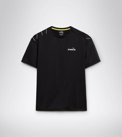 Running T-shirt - Men SS T-SHIRT BE ONE TECH BLACK - Diadora