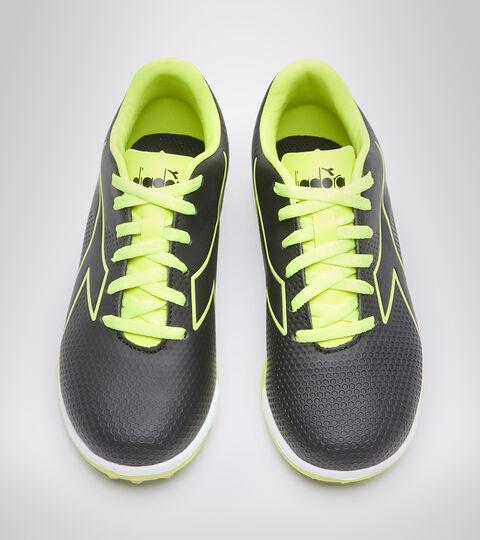 Chaussures de football pour terrains synthétiques - Garçon PICHICHI 4 TF JR NOIR/JAUNE FLUO DIA - Diadora