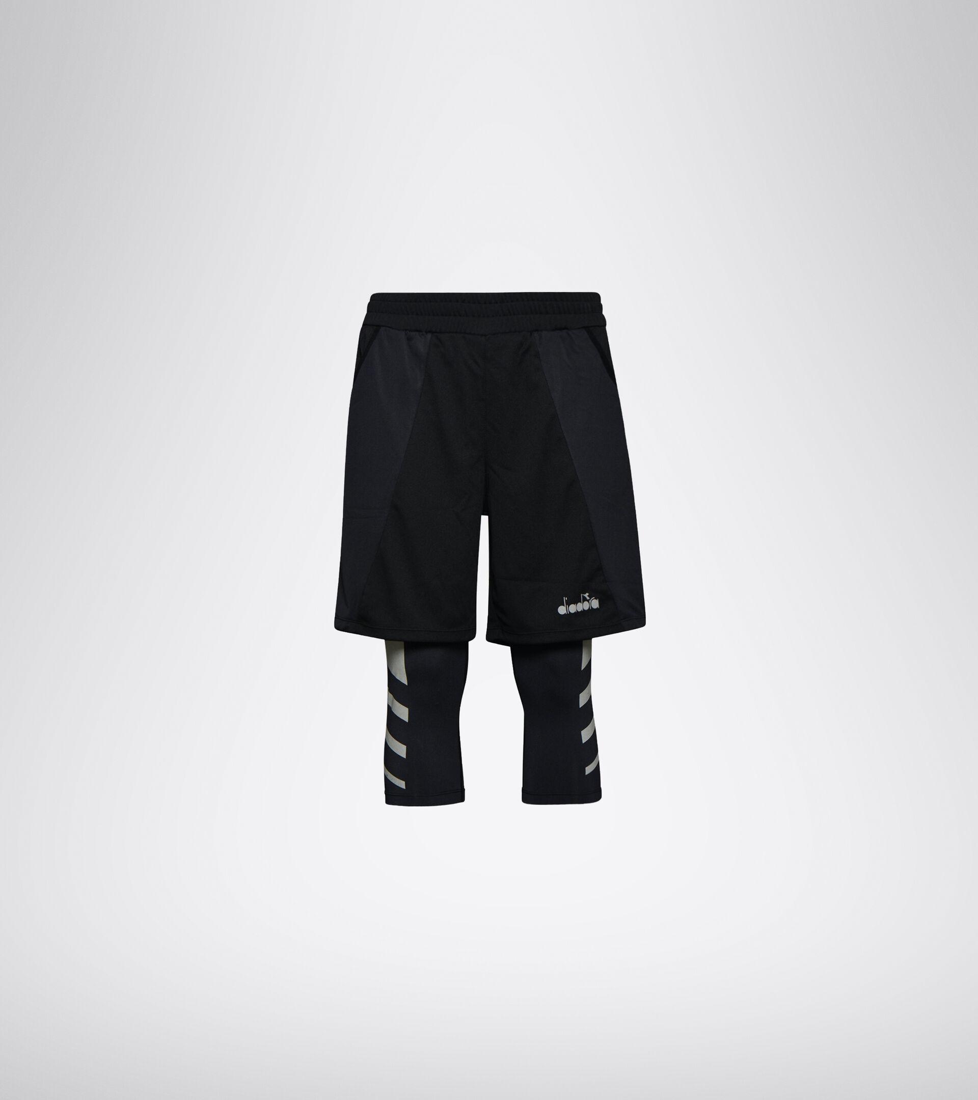 Lauf-Shorts - Herren POWER SHORTS BE ONE SCHWARZ - Diadora