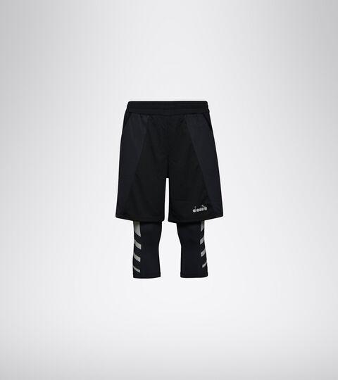 Running shorts - Men POWER SHORTS BE ONE BLACK - Diadora