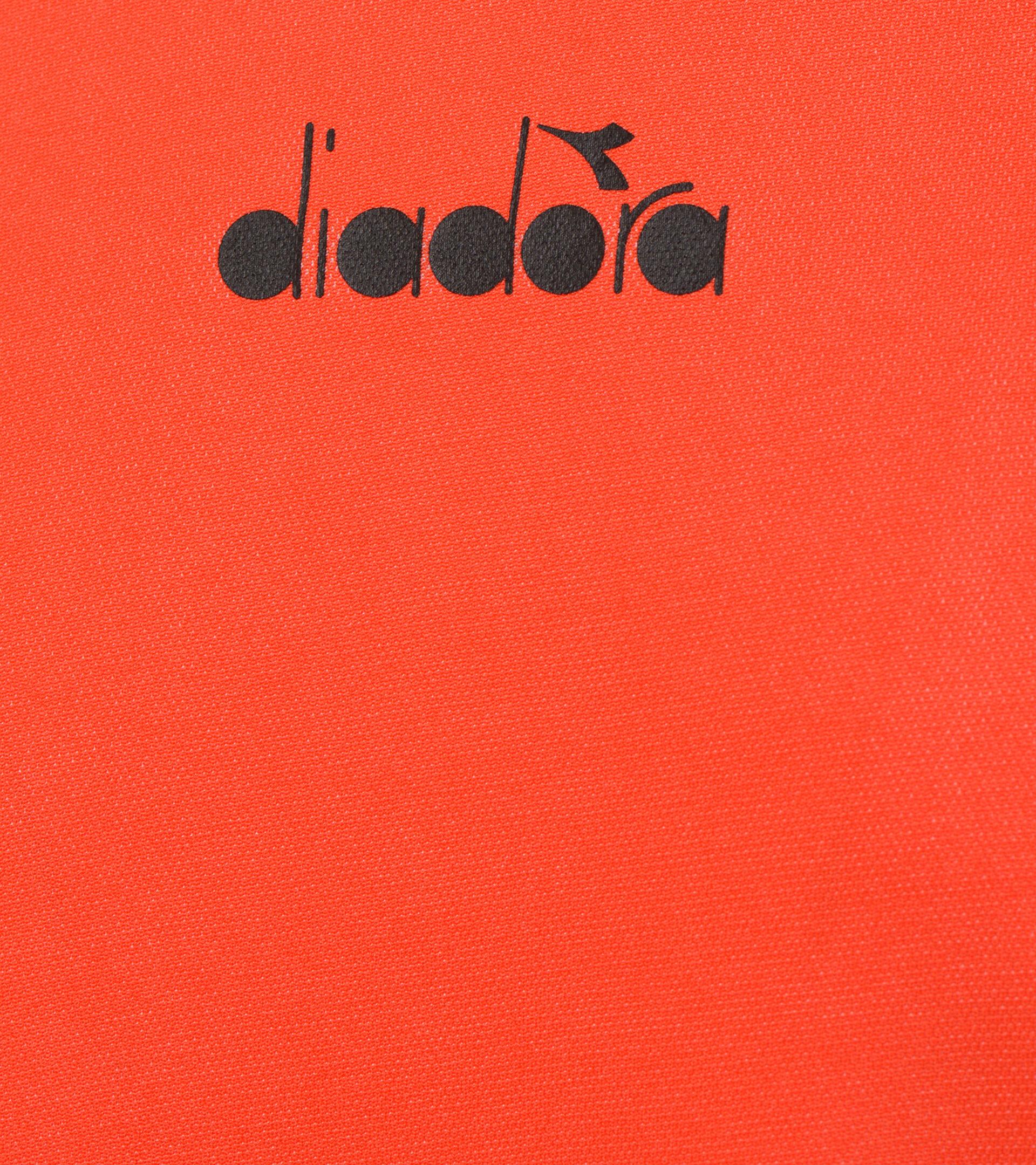 Tennis-T-Shirt - Herren SS T-SHIRT EASY TENNIS FIESTA ROT - Diadora
