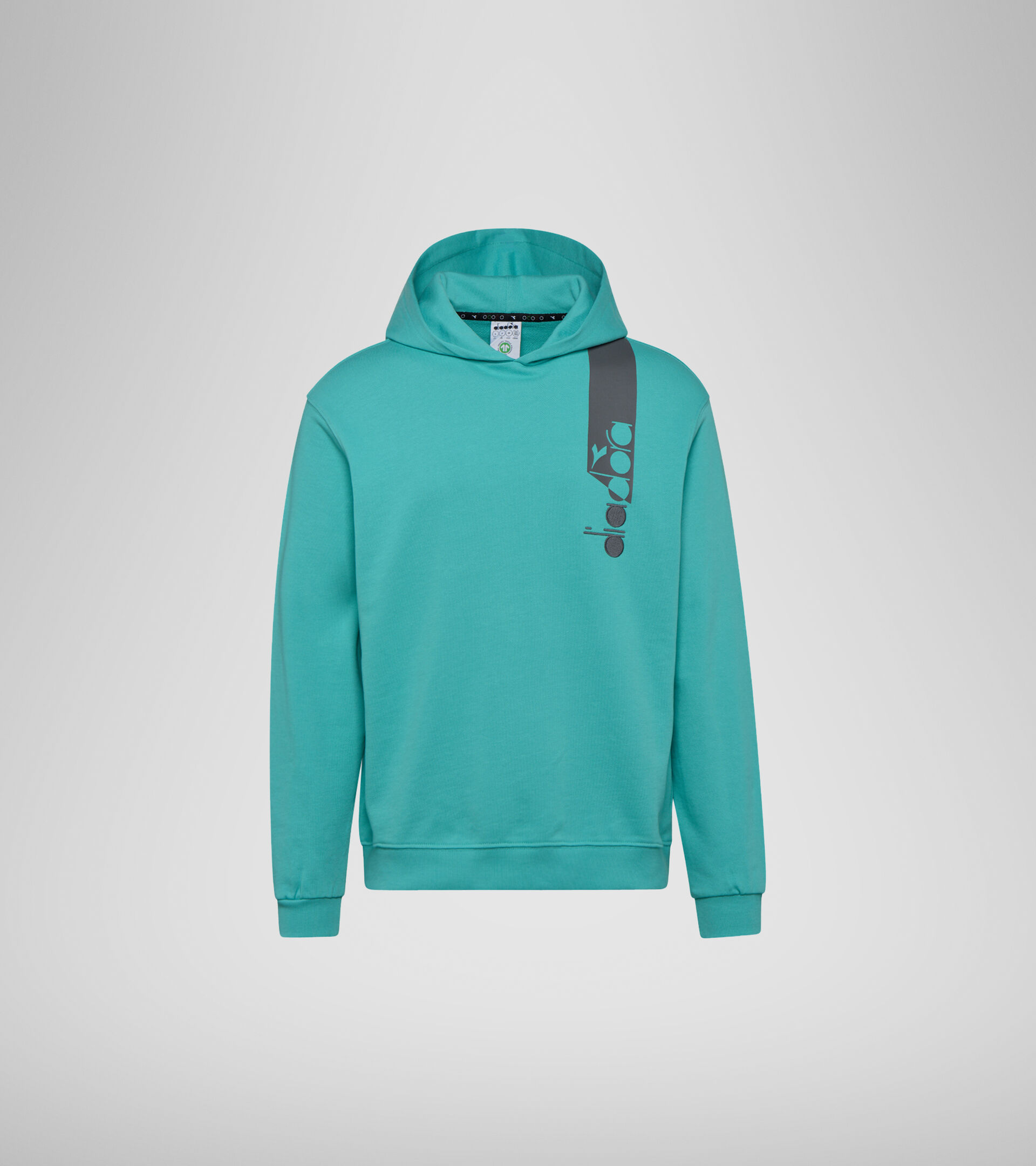 Hooded sweatshirt - Unisex HOODIE ICON GREEN FLORIDA KEYS - Diadora