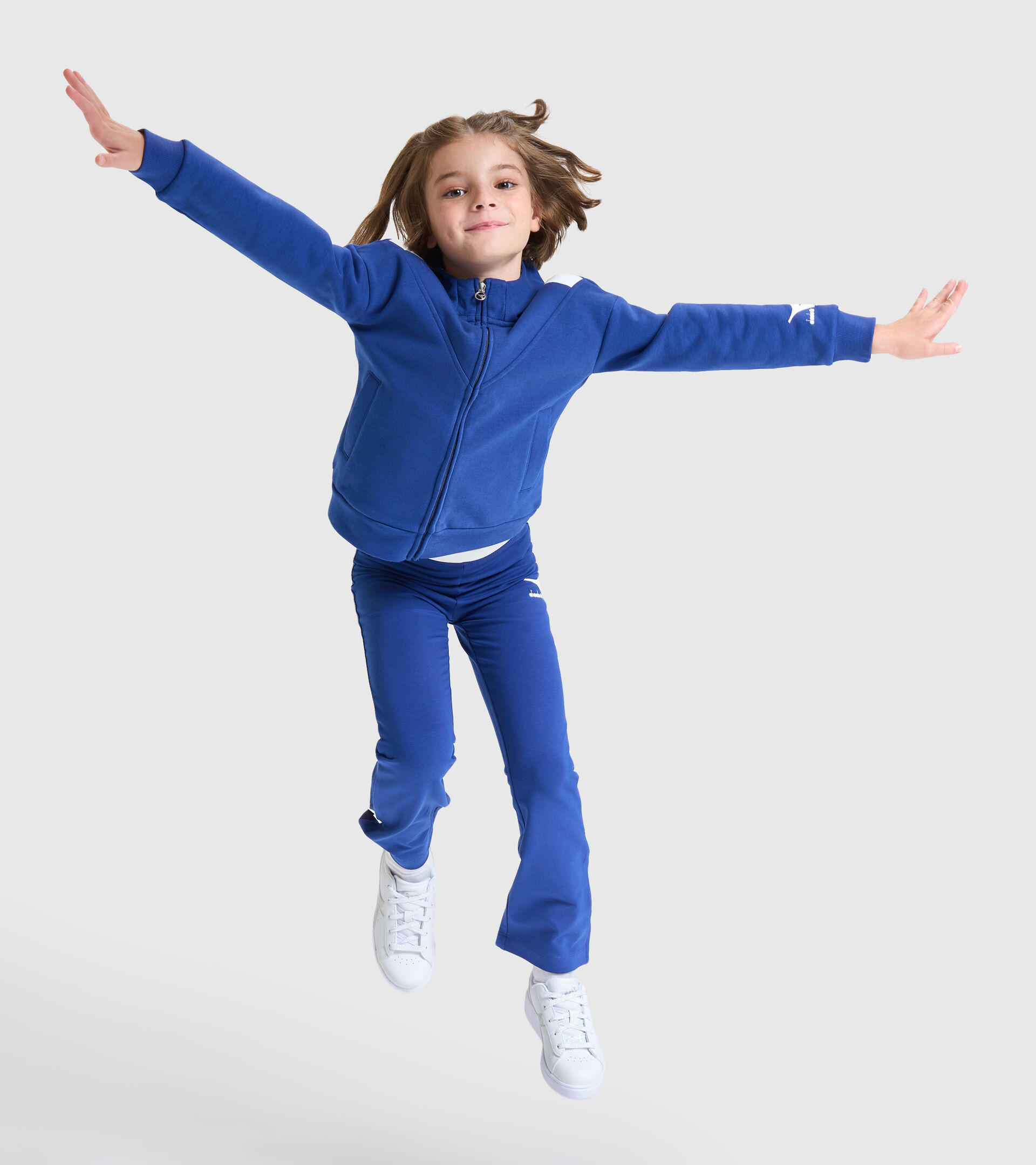 Trainingsanzug - Kinder JG.HD FZ TRACKSUIT TWINKLE DAEMMERUNG BLAU - Diadora