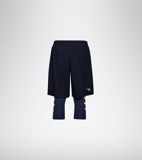 Running shorts - Men POWER SHORTS BE ONE BLUE CORSAIR - Diadora