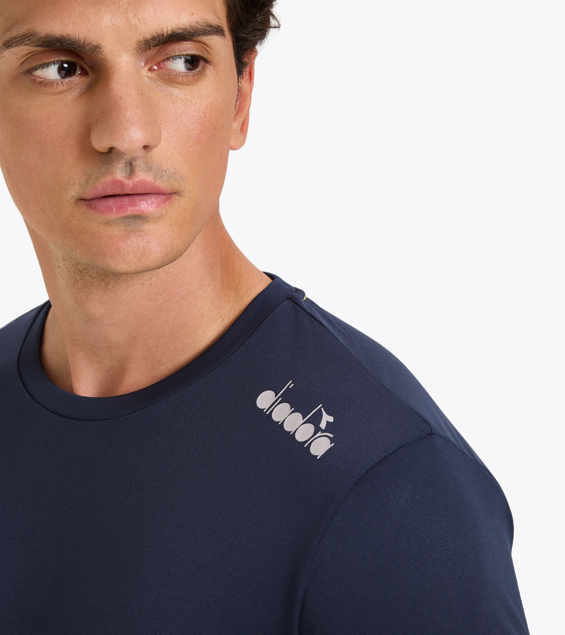 Running T-shirt - Men SS CORE TEE BLUE CORSAIR - Diadora