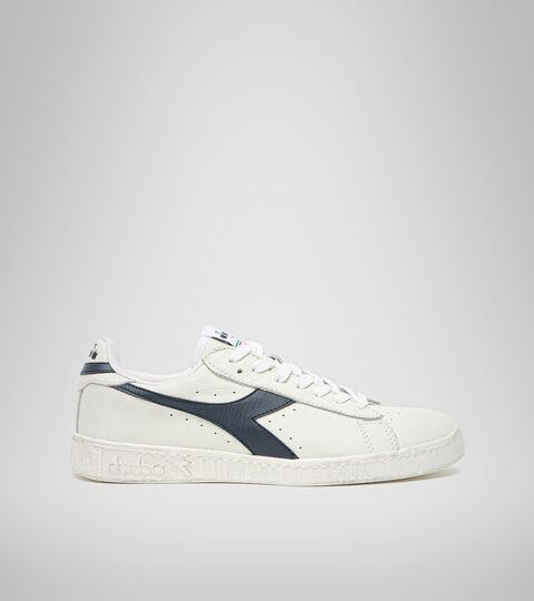 Footwear Sportswear UNISEX GAME L LOW WAXED BLANCO/UNIFORME AZUL Diadora