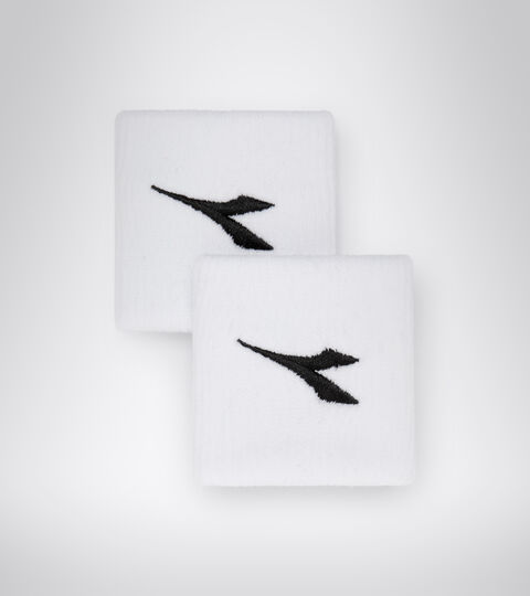 Accessories Sport UNISEX WRISTBANDS WHITE/BLACK Diadora