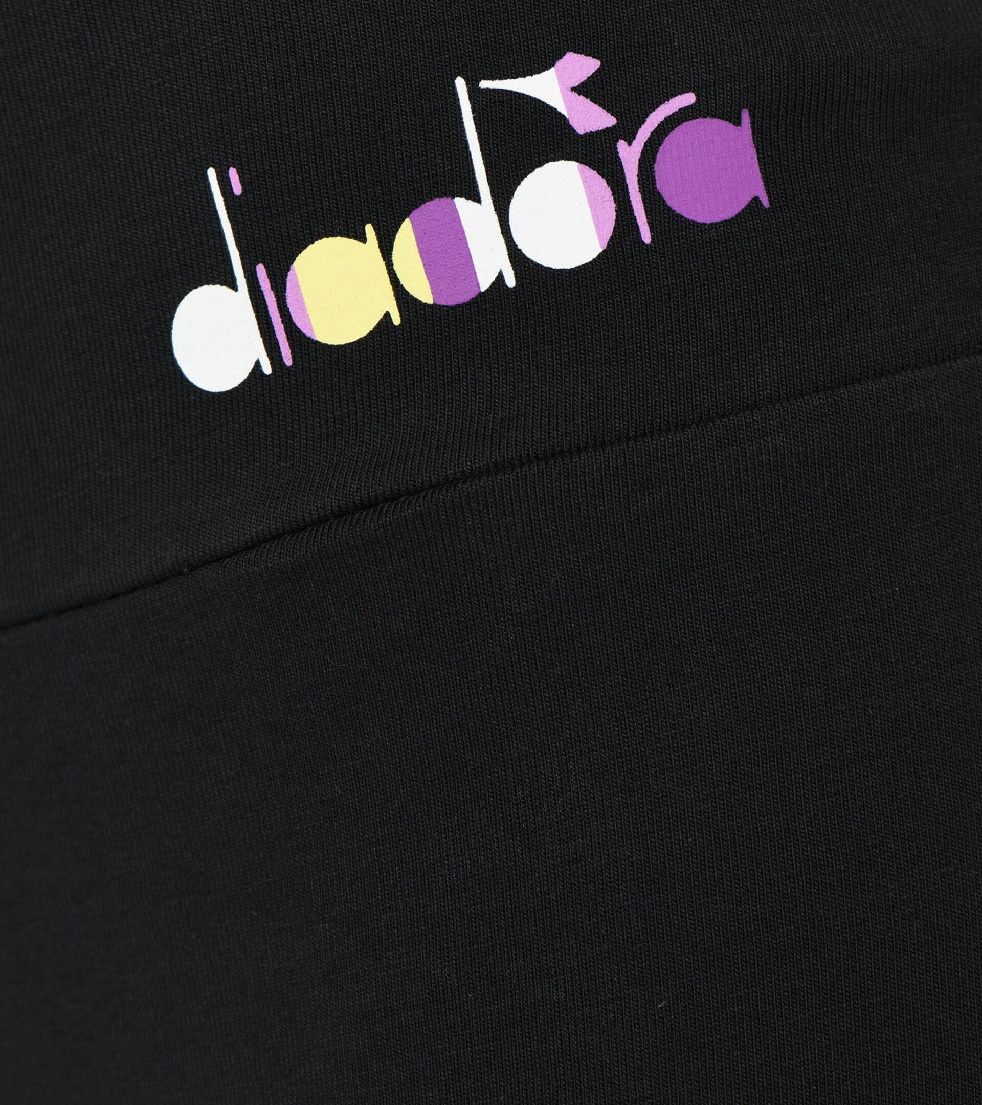 Apparel Sport DONNA L.LEGGINGS SPOTLIGHT BLACK Diadora