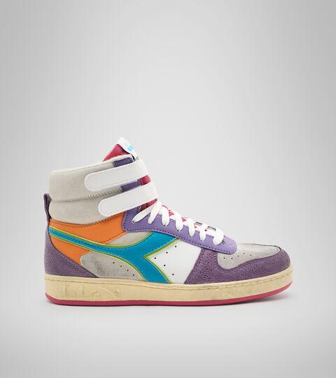 Footwear Sportswear DONNA MAGIC BASKET MID ICONA WN ENGLISH LAVENDER/WHITE Diadora