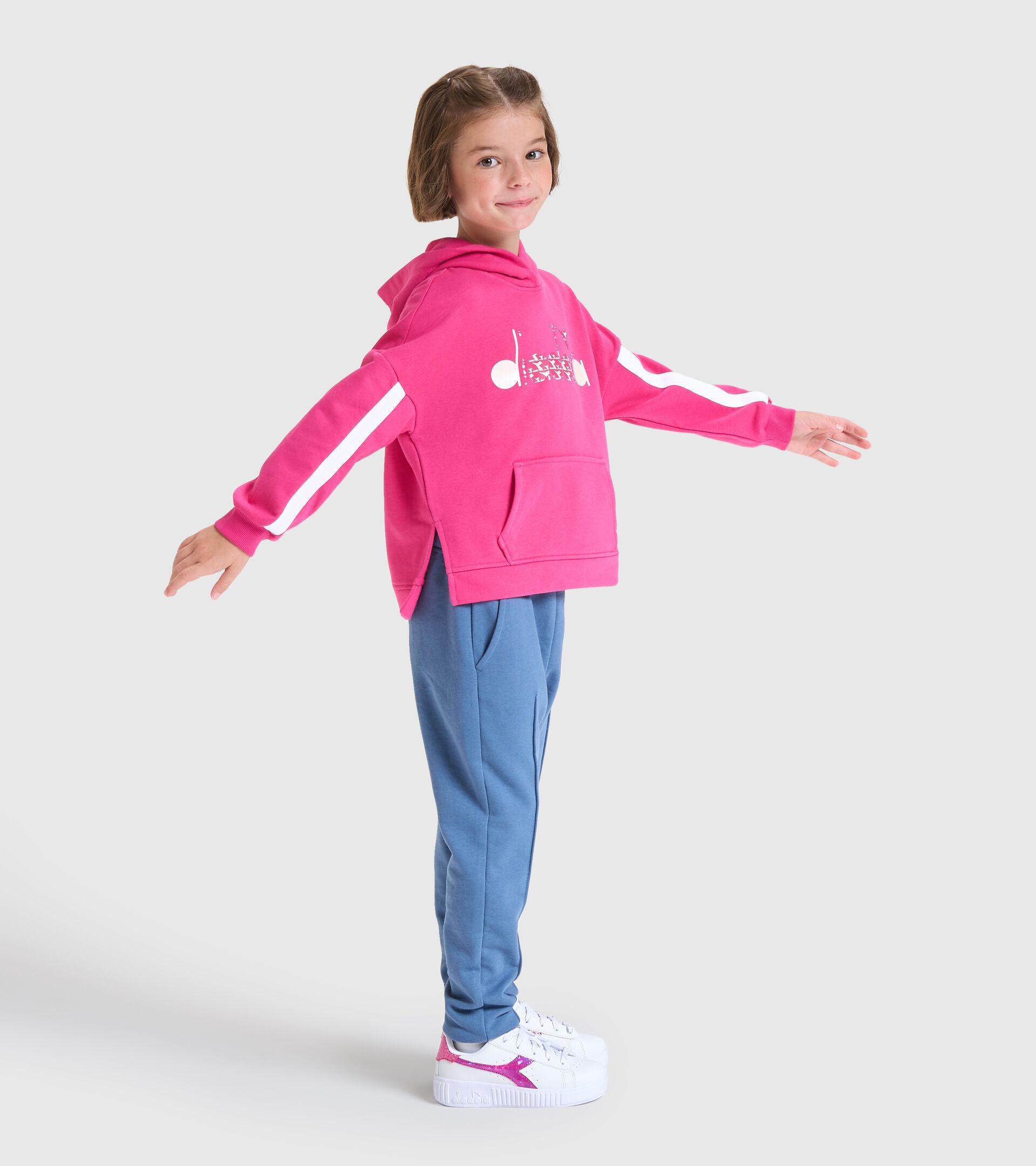 Trainingsanzug - Kinder JG.HD TRACKSUIT TWINKLE MAGENTAROT - Diadora