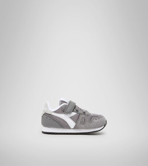 Sports shoes - Toddlers 1-4 years SIMPLE RUN TD STEEL GRAY - Diadora