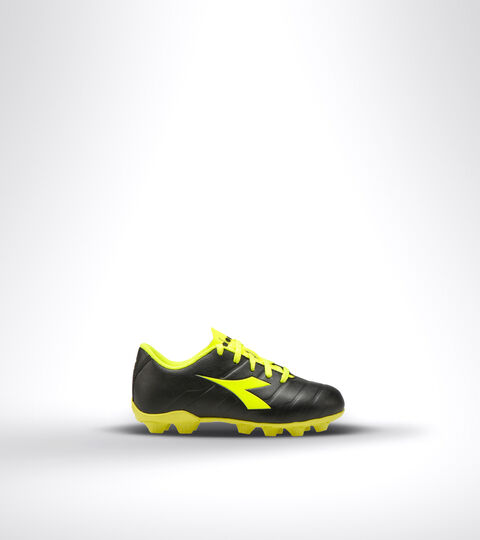 Footwear Sport BAMBINO PICHICHI 3 MD JR NEGRO/AMARILLO FLUO DD Diadora
