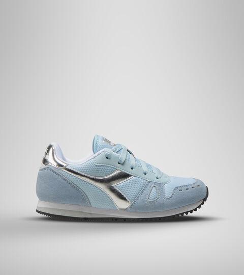 Chaussures de sport - Jeunes 8-16 ans SIMPLE RUN GS GIRL BLEU LUMIERE DES ETOILES - Diadora