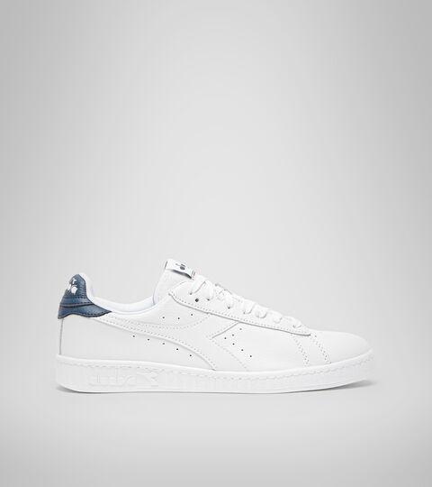 Footwear Sportswear UNISEX GAME L LOW OPTICAL BIANCO/BLU DENIM SCURO Diadora