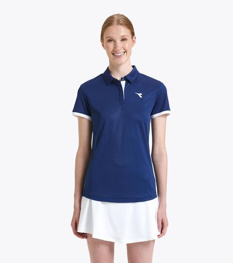 Tennis-Polohemd - Damen L. POLO COURT GUTBLAU - Diadora