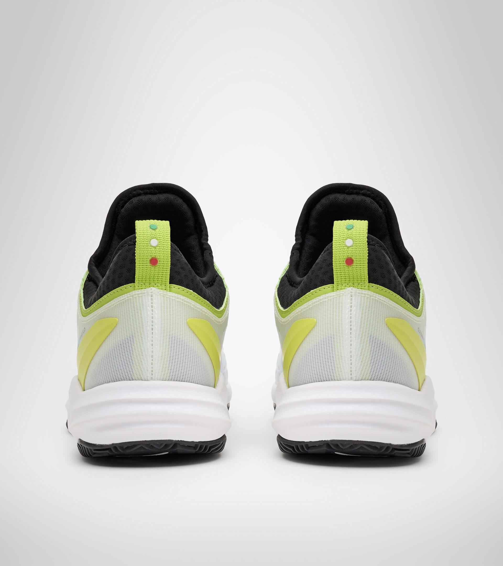 Footwear Sport UOMO SPEED BLUSHIELD FLY 3 + CLAY BLANCO/NEGRO/VERDE LIMA Diadora