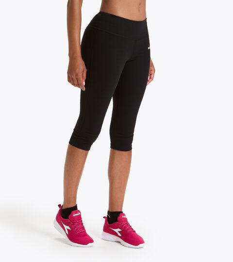 Training-Leggings - Damen L. 3/4 TIGHTS BE ONE SCHWARZ - Diadora