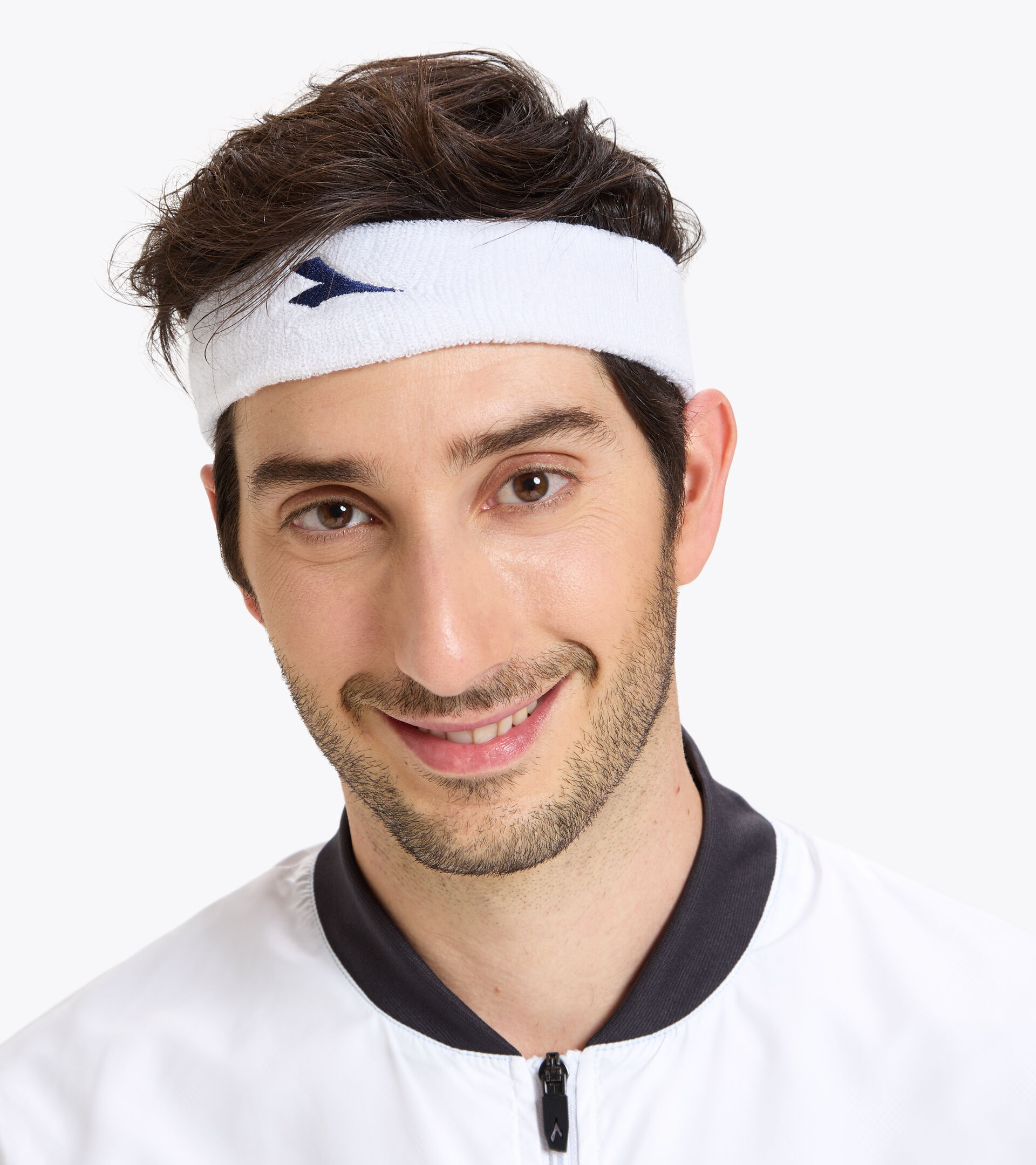Accessories Sport UNISEX HEAD BAND OPTICAL WHITE Diadora