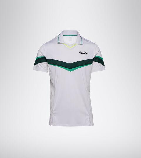Apparel Sport UOMO POLO SS HOLLY GREEN/WHT/BISTRO GREEN Diadora