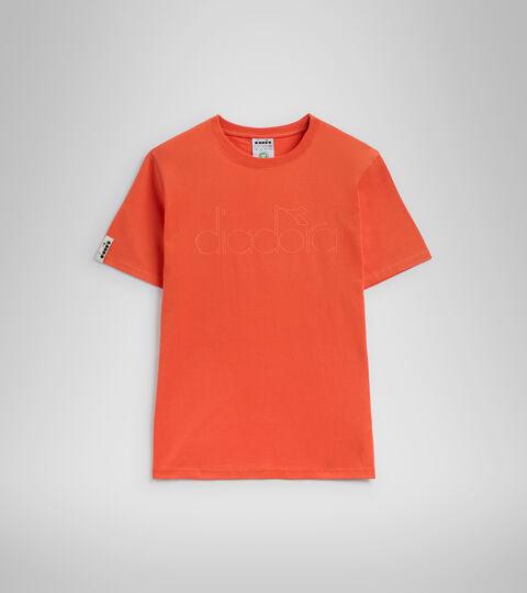 T-shirt - Unisexe T-SHIRT SS DIADORA HD ROUGE LIS TIGRE - Diadora