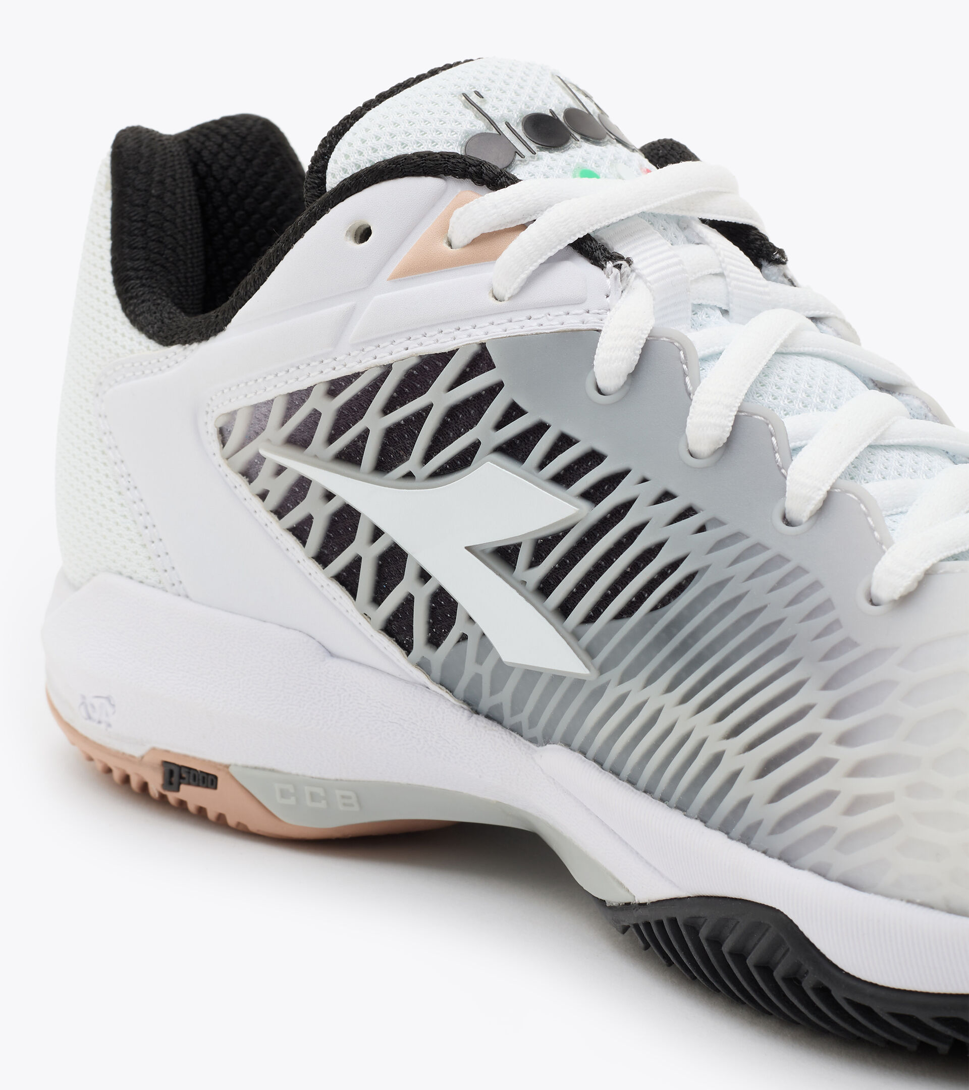 Footwear Sport DONNA SPEED COMPETITION 6 + W CLAY BIANCO OTTICO/ARGENTO/NERO Diadora