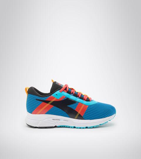 Footwear Sport BAMBINO MYTHOS BLUSHIELD ELITE 4 Y AZUL MIKONOS/NEGRO/ROJO FIESTA Diadora