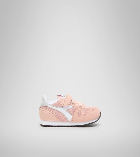 Sports shoes - Toddlers 1-4 years SIMPLE RUN TD PINK SAND (50034) - Diadora