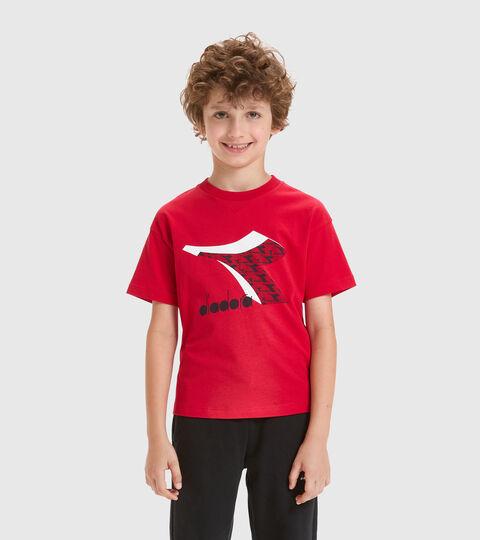 T-shirt - Bambini/e JU.SS T-SHIRT  CUBIC ROSSO TANGO - Diadora