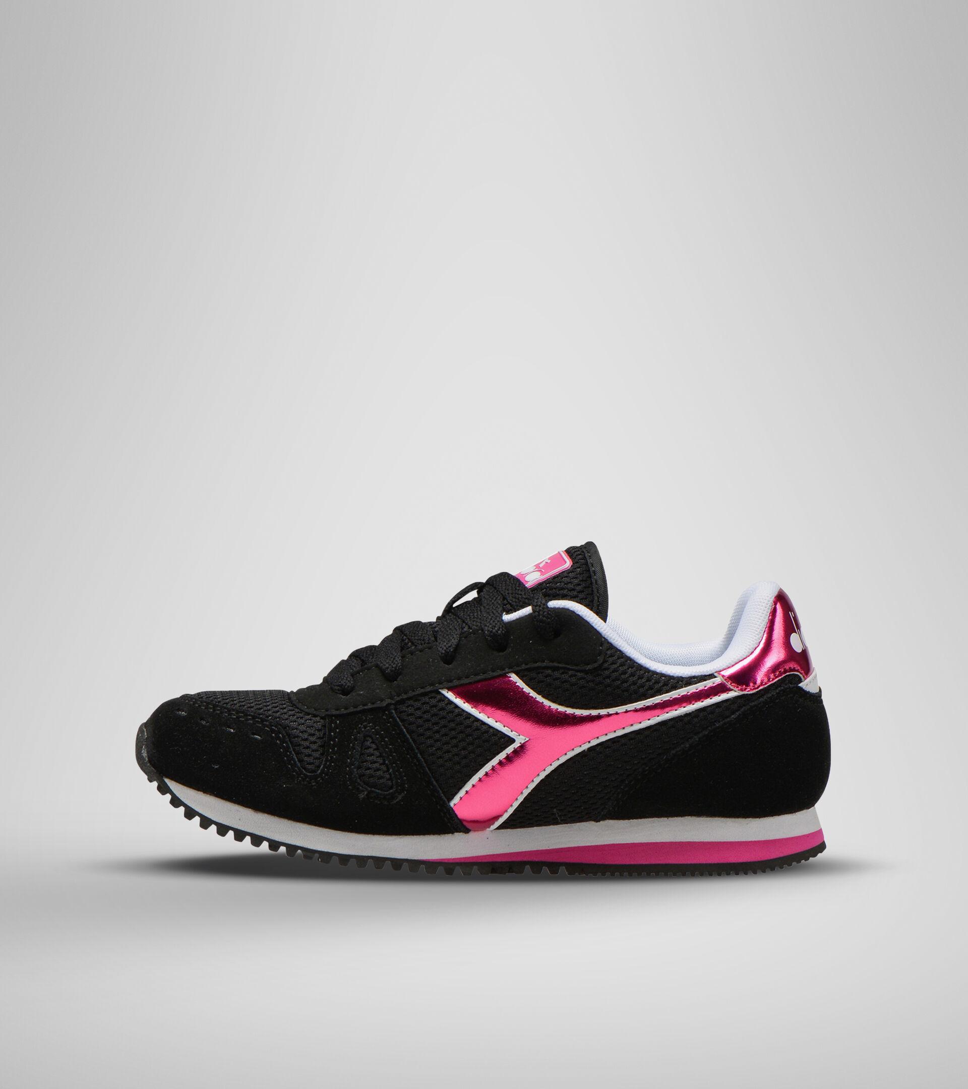 Footwear Sport BAMBINO SIMPLE RUN GS GIRL BLACK Diadora