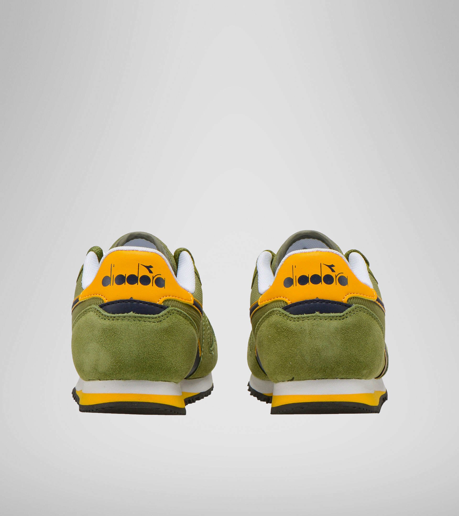 Footwear Sport BAMBINO SIMPLE RUN GS CALLISTE GREEN Diadora
