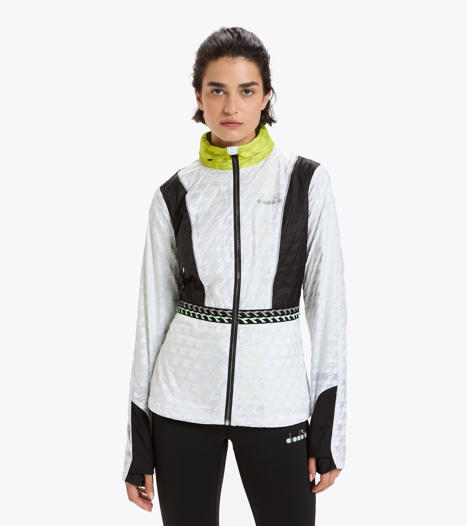 Isothermal running jacket - Women L. ISOTHERMAL JACKET BE ONE OPTICAL WHITE - Diadora