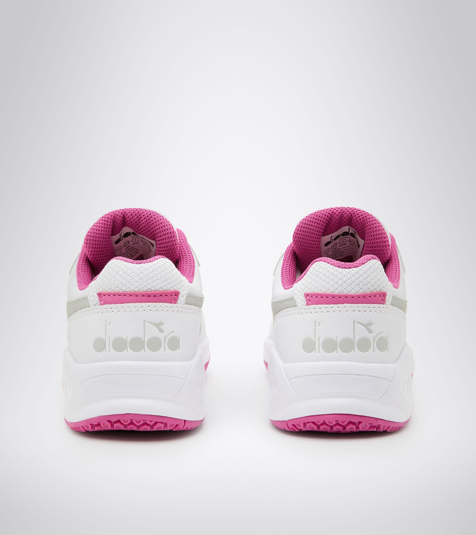 Footwear Sport BAMBINO S. CHALLENGE 3 SL JR BIANCO/ROSA IBIS Diadora