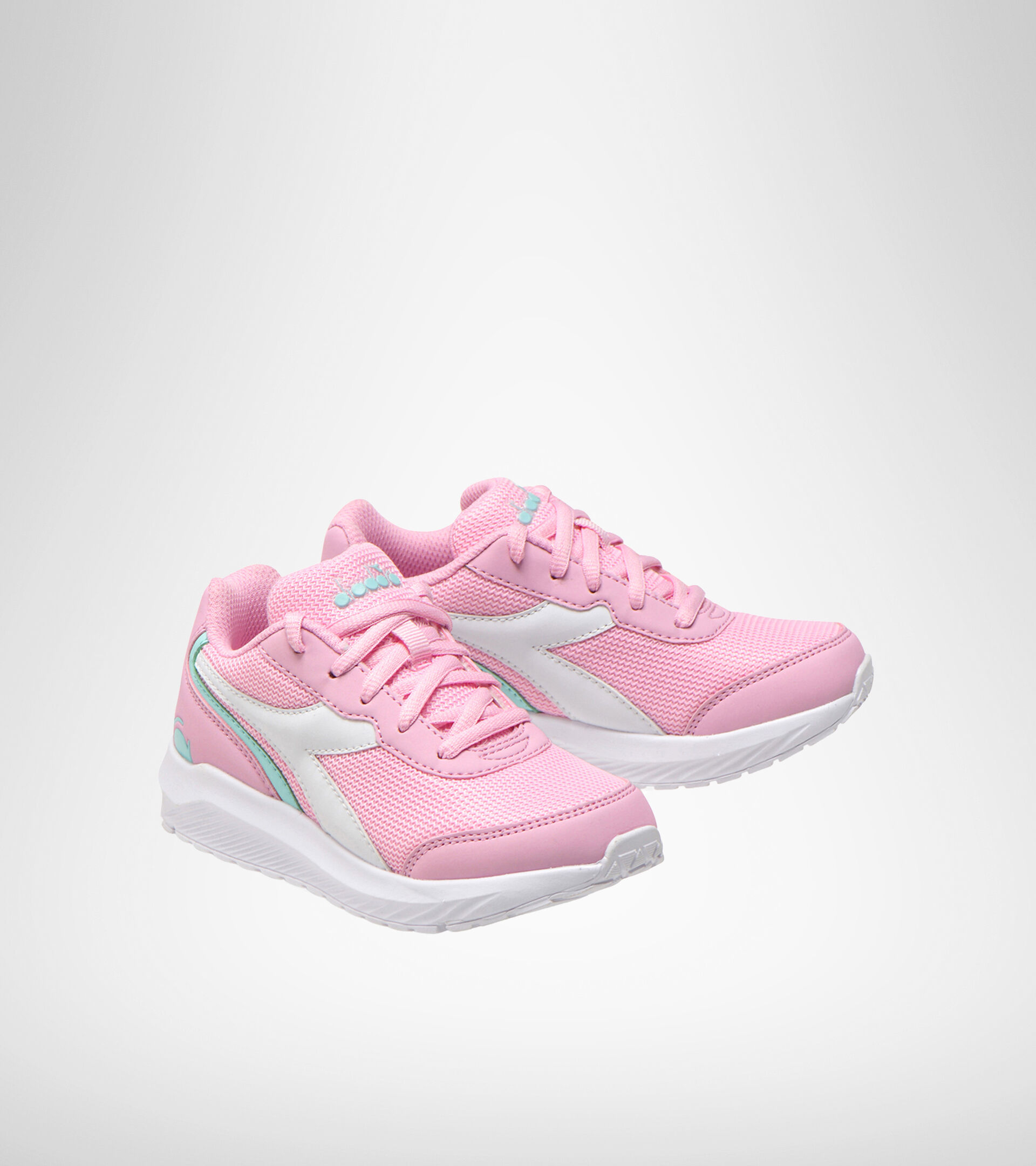Footwear Sport BAMBINO FALCON JR PINK LADY/WHITE Diadora