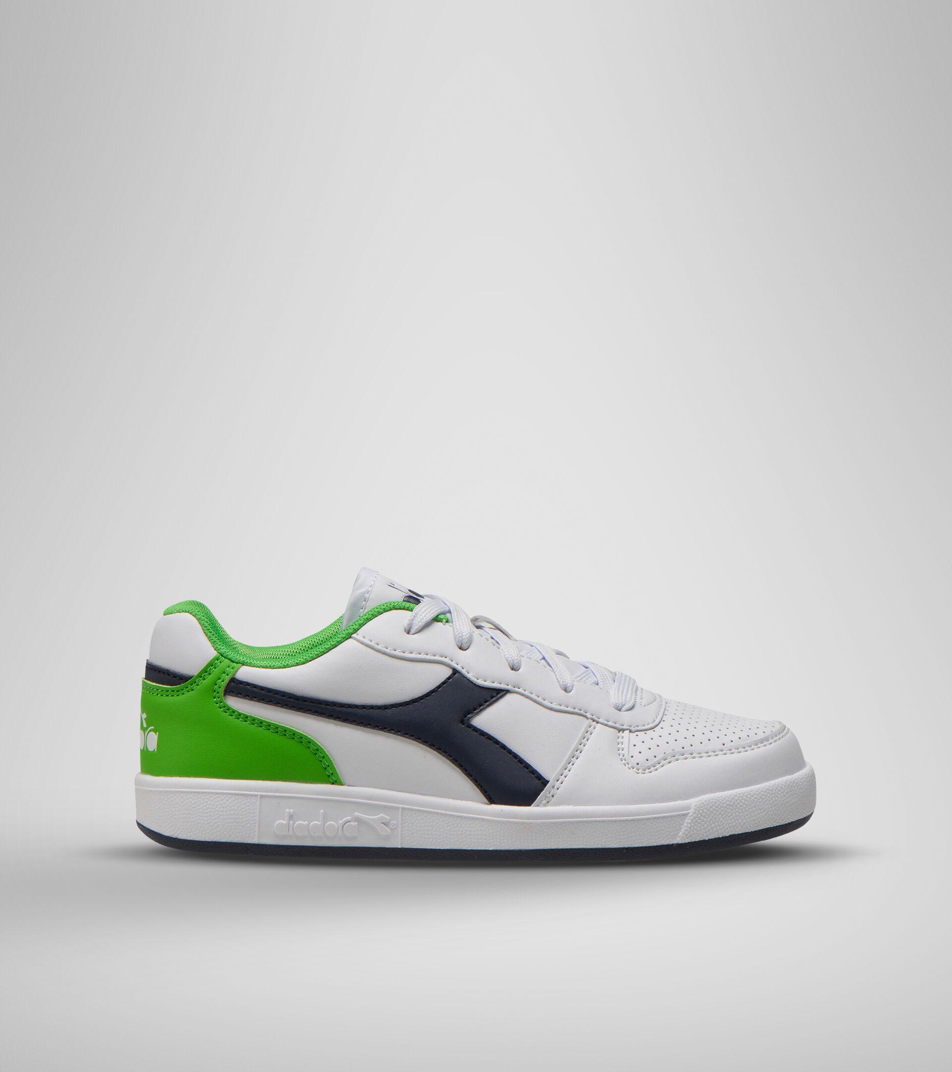 Footwear Sport BAMBINO PLAYGROUND GS BCO/BLU CORSARO/VERDE EVIDENZI Diadora