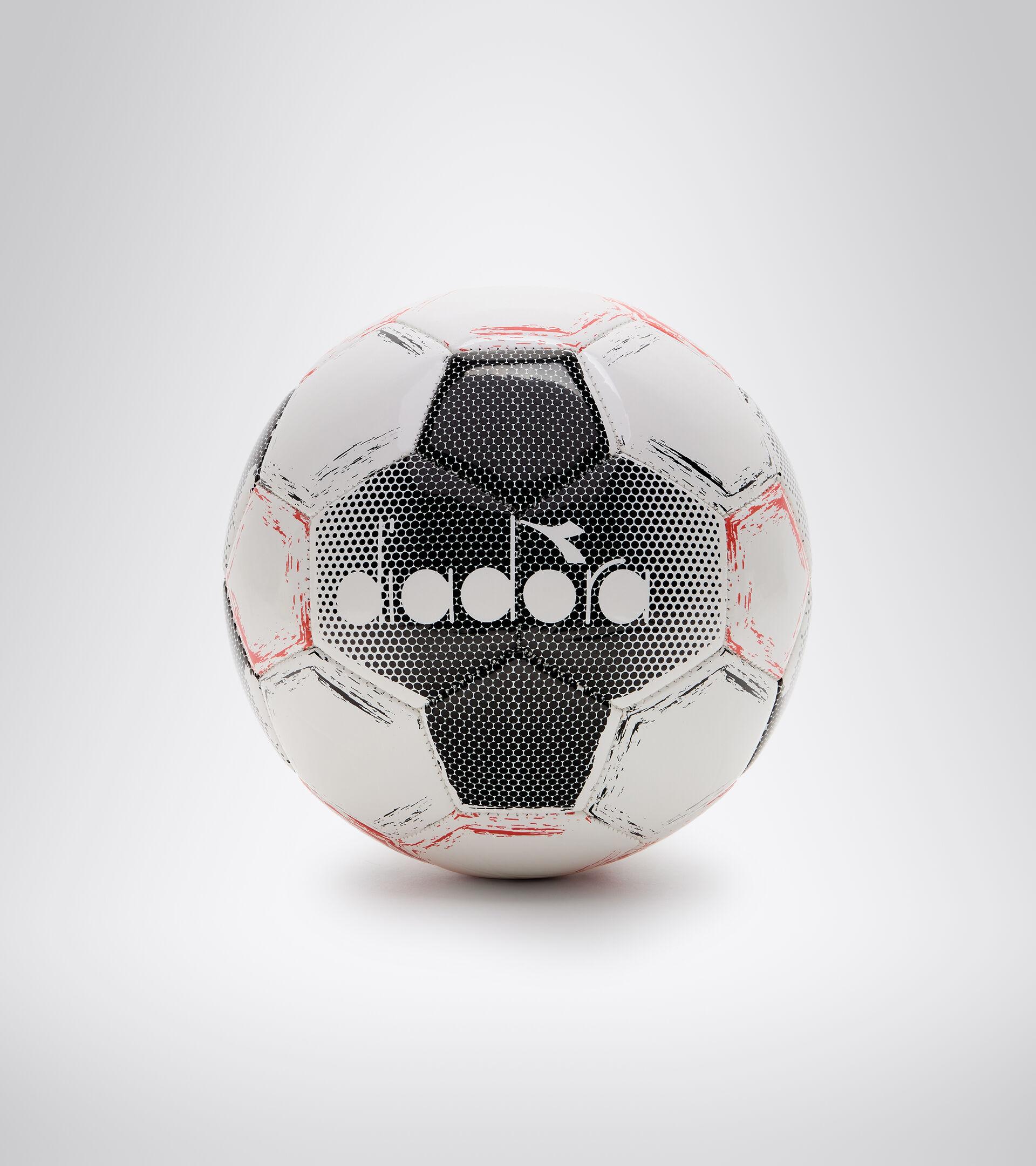 Kleinfeld-/Futsal-Ball BOMBER SALA CR WEISS/FLUO ROT/SCHWARZ - Diadora