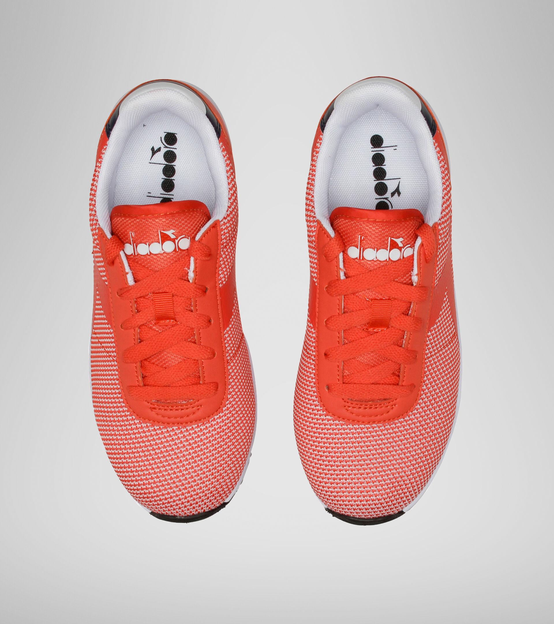 Footwear Sport BAMBINO EVO RUN GS FIESTA/BLACK IRIS Diadora