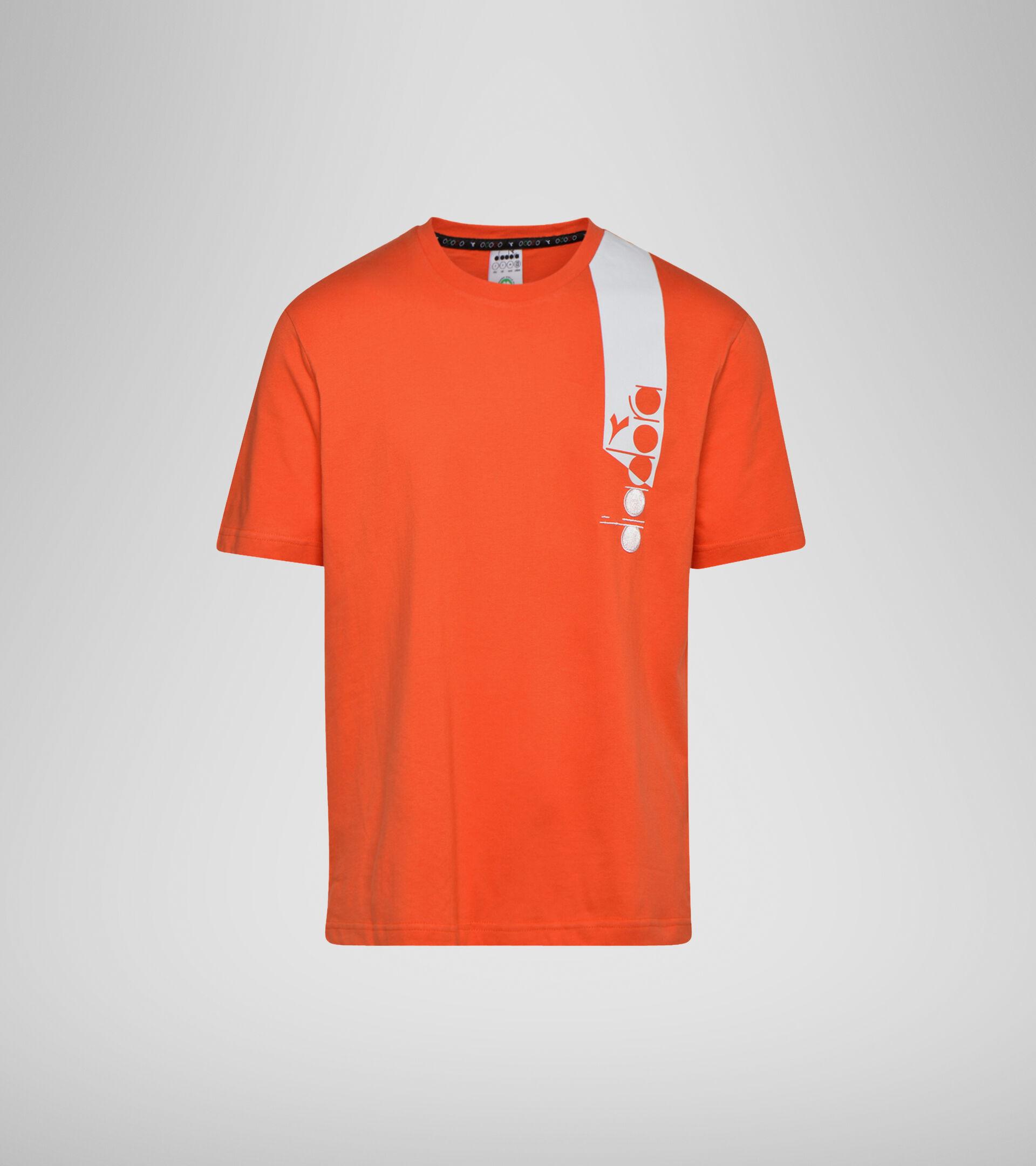 Apparel Sportswear UOMO T-SHIRT SS ICON ORANGEADE Diadora